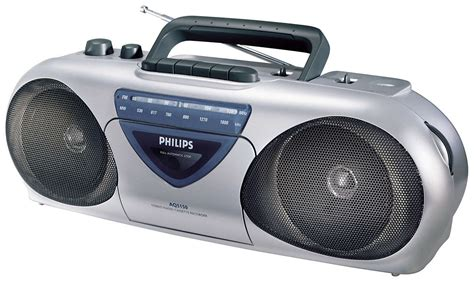 cassette radio player radio cassette recorder aq5150 00 philips