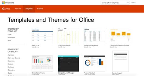 Download Free Ms Powerpoint Templates From Microsoft Office Website Free Microsoft Excel Templates