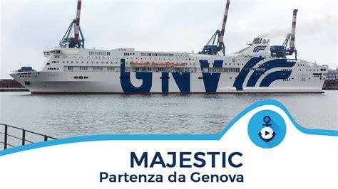 porto palermo grandi navi veloci majestic parte da genova grandi navi veloci 2016