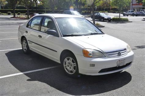 used honda civic cng for sale find used 2001 honda civic gx 4 door cng gas