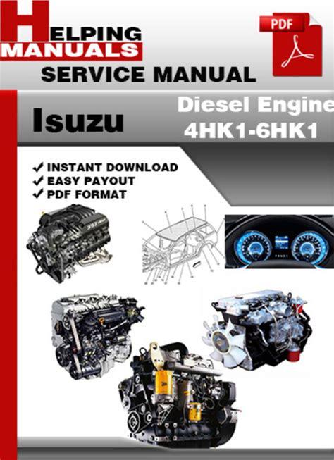 small engine repair manuals free download 1997 isuzu trooper electronic toll collection isuzu diesel engines repair manual maipork
