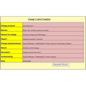 It Change Management Process Template by Creating A Change Plan Key Components Free