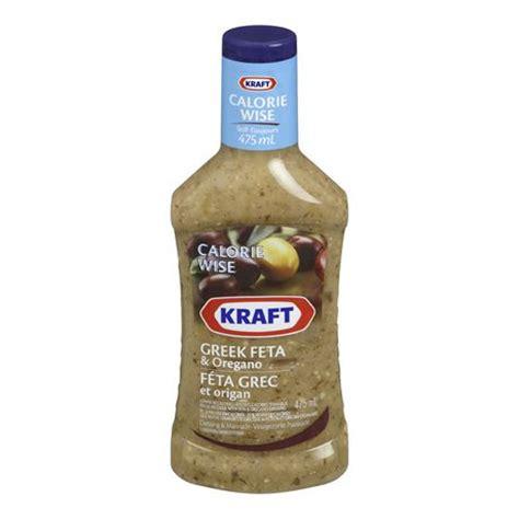 Kraft Green Goddes Dressing kraft calorie wise feta dressing walmart ca