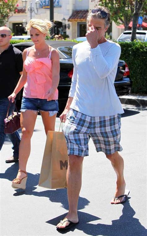 Britneys Weekend by Wallpaper World Spear Weekend Shopping With