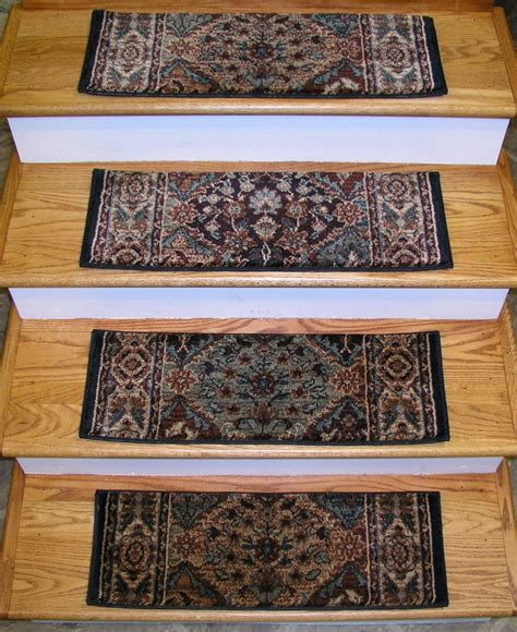 stair rugs treads 152938 rug depot premium carpet stair treads set of 13 treads 26 quot x 9 quot multi ebay