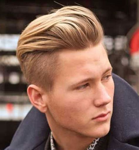 boys under cut blond hair 27 undercut hairstyles for men