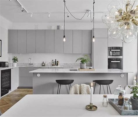 light gray kitchens best 20 light grey kitchens ideas on