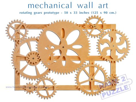 mechanical decor mechanical wall art kinetic wall art decor wooden gears wall