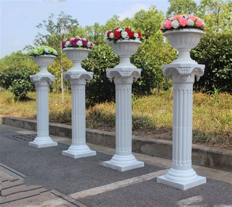 Columns For Decorations by 34in Height Column Wedding Decoration Plastic