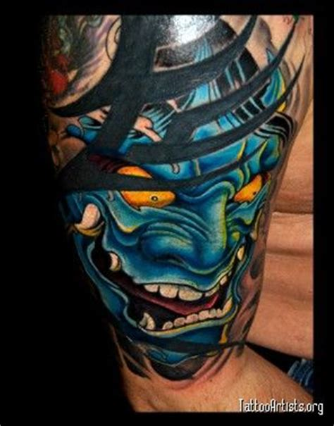 hannya mask with spear tattoo design 94 best images about hannya on pinterest
