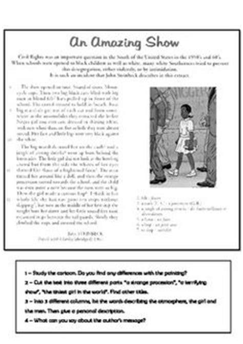 Ruby Bridges Worksheets by Ruby Bridges Esl Worksheets Bridges And Worksheets