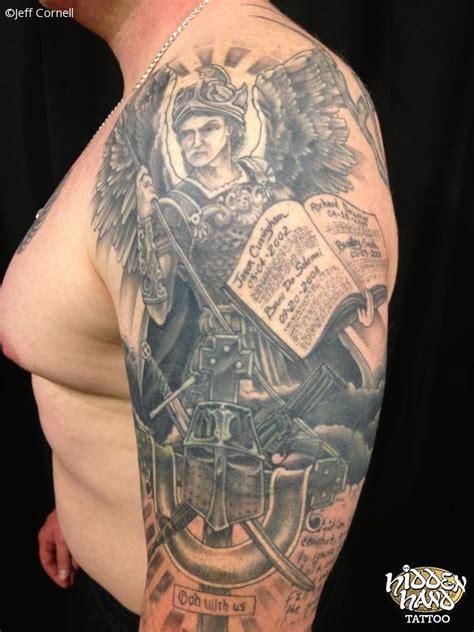 war memorial sleeve 1 hidden hand tattoo seattle wa