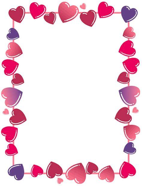 html imagenes borde bordes decorativos bordes decorativos de corazones para