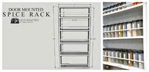 diy door mounted spice rack 100 things 2 do