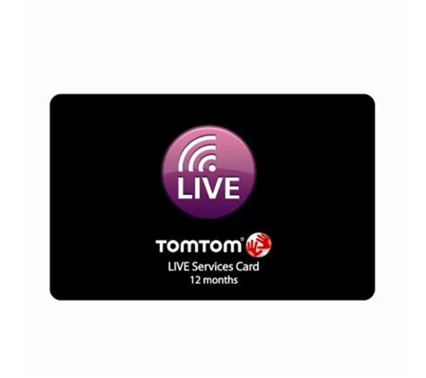 Qvc Uk Gift Card - tomtom live services prepaid card 12 months qvc uk