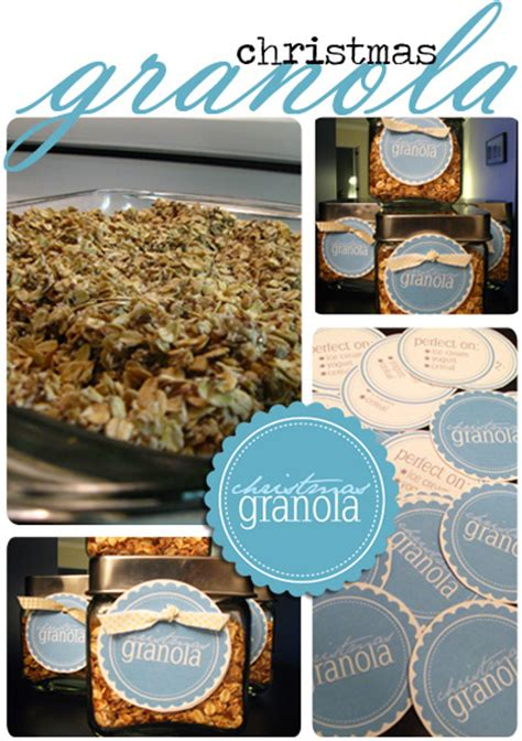printable granola labels homemade granola with free printables