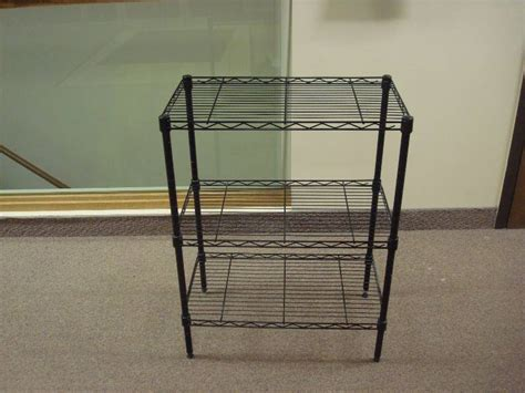 Small Wire Rack by Small Black Metal Wire Shelf 83 Sectional Dixie