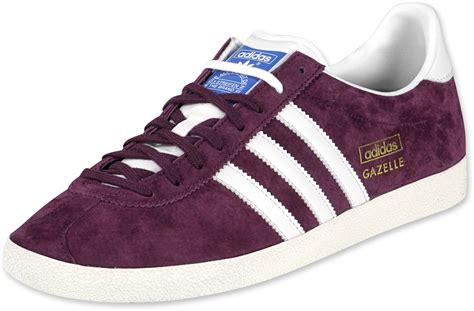 Adidas Gazelle adidas gazelle og chaussures violet blanc