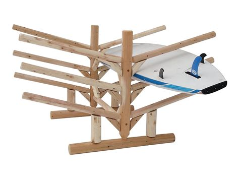 Place Rack by Low 6 Place Sup Rack Sided Surfboard Storage System