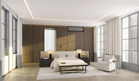 wood panel bedroom interior design ideas