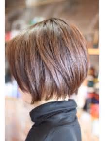 bob haircuts cut into the neck carr 233 court sur femme aux cheveux marron coiffure