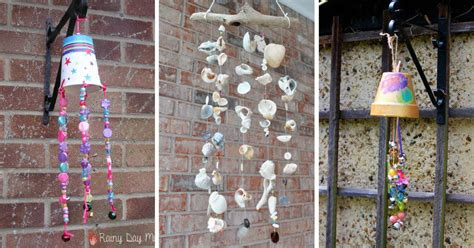 wind chime crafts  pretty   garden