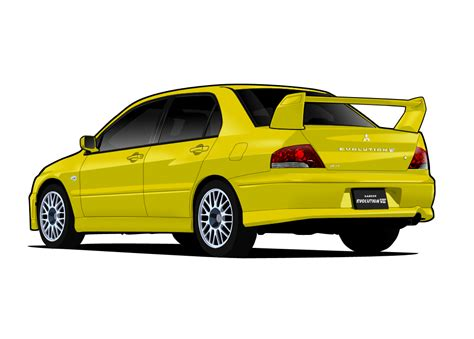mitsubishi evo png v mitsubishi lancer evo vii by me myself on deviantart