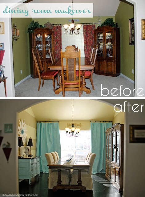 Dining Room Makeovers On A Budget by I Should Be Mopping The Floor Dining Room Makeover On A