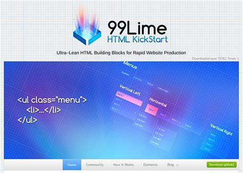 tutorial html kickstart free web tutorials css tutorials jquery tutorials html