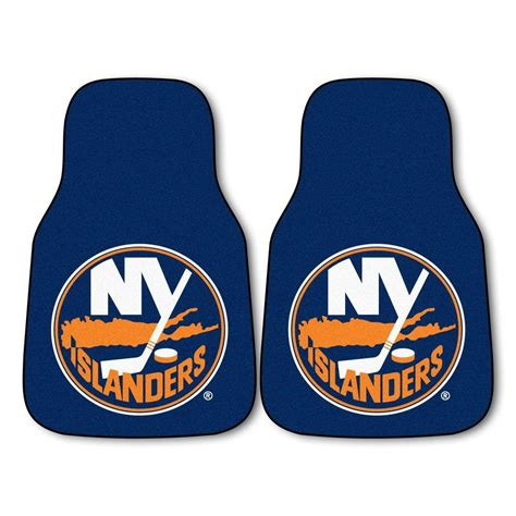 Window Treatments San Jose - fanmats new york islanders 18 in x 27 in 2 piece carpeted car mat set 10463 the home depot
