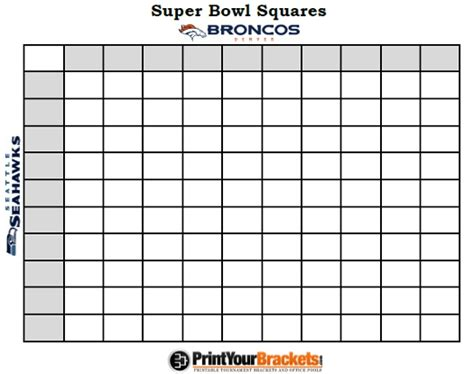super bowl football pool template invitation template