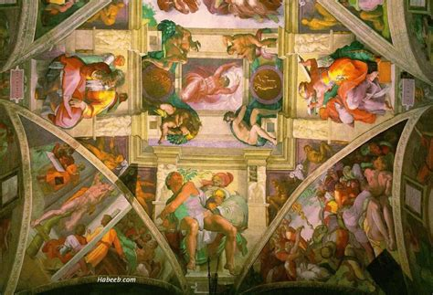 The Painting On The Ceiling Of The Sistine Chapel by The Nature In Us Sistine Chapel Ceiling And God S Creation