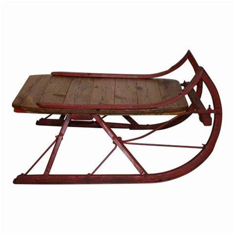 Sleigh Coffee Tables Ski Country Antiques Home Sleigh Coffee Table