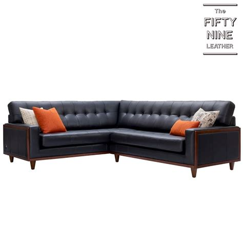 G Plan Vintage 59 Sofa by G Plan Vintage Fifty Nine Corner Sofa In Leather At Smiths