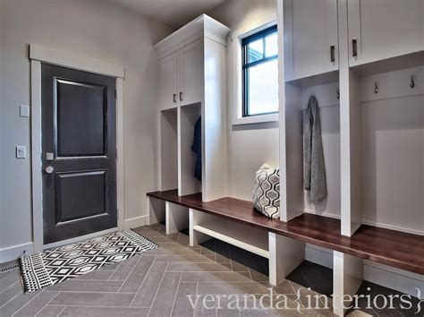 veranda interiors mud room lockers traditional laundry room veranda