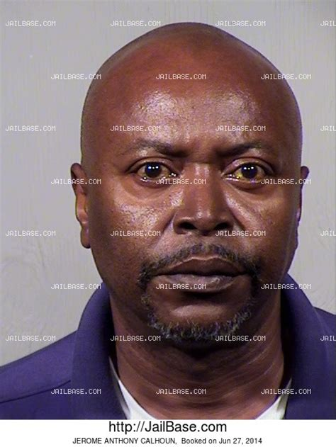 Calhoun County Michigan Arrest Records Jerome Anthony Calhoun Arrest History