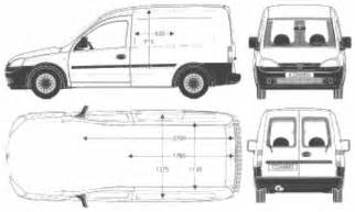 Opel Combo Dimensions The Blueprints Blueprints Gt Cars Gt Opel Gt Opel Combo