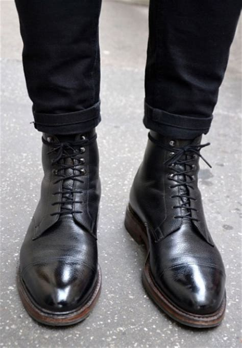 black leather boots for black leather boots soletopia