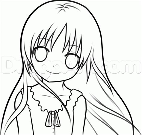 Anime Drawings Easy by Anime Drawings For Beginners Step By Step Drawing Sketch