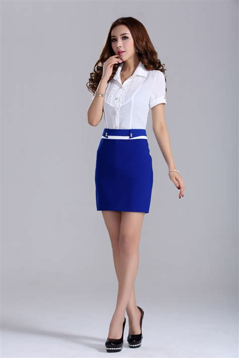 blue bodycon office corporate work vintage formal