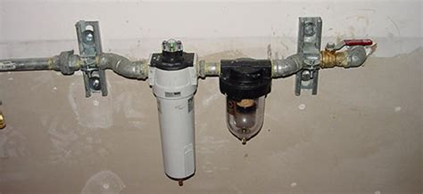 change air compressor water filter