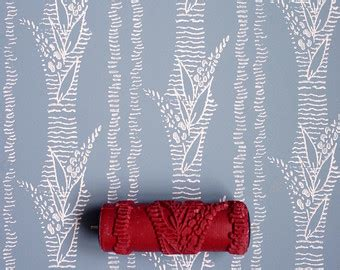 damask patterned paint roller no 27 from paint courage damask patterned paint roller no 29 from paint courage