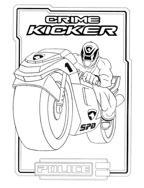 coloring pages of power rangers spd free coloring pages of power ranger spd