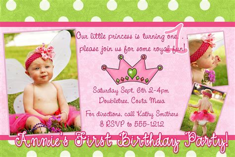 exles of 1st birthday invitations birthday invitation card sles best ideas