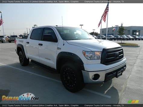 Toyota Tundra Special Edition 2012 Toyota Tundra T 2 0 Limited Edition Crewmax 4x4