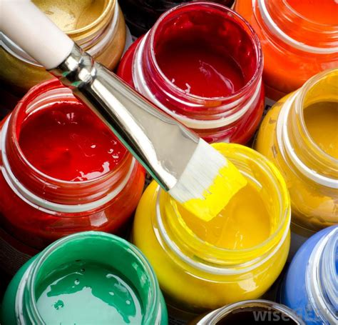 types of acrylic paint what are the different types of interactive artists