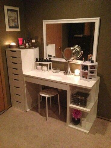 how to build a makeup vanity table build your own makeup vanity table saubhaya makeup