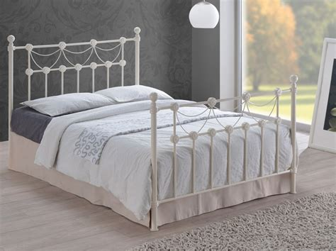 king size metal bed abdabs furniture omero metal bed king size