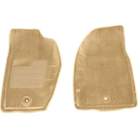 2001 Jeep Floor Mats by New Nifty Products Floor Mats Front Beige Jeep