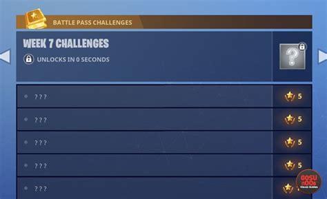 fortnite week 7 challenges fortnite br week 3 challenges bug unlocks in zero seconds
